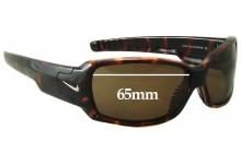 Sunglass Fix Sunglass Replacement Lenses for Nike Nix EV0302 - EV0353 - EV0363 - EV0488 - 65mm Wide