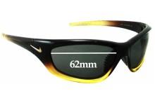 Sunglass Fix Sunglass Replacement Lenses for Nike Overpass EVO251 275 - 62mm Wide