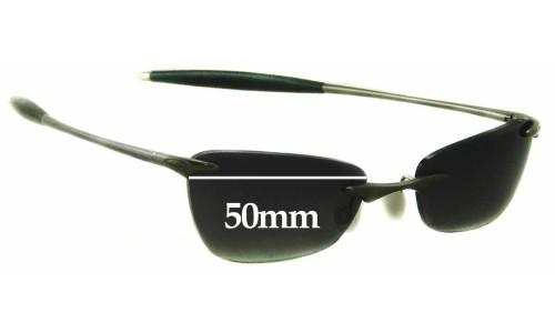 Sunglass Fix Sunglass Replacement Lenses for Oakley 3 - 50mm Wide