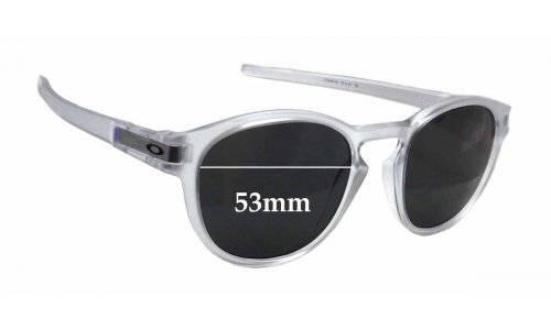 Sunglass Fix Sunglass Replacement Lenses for Oakley 9265 Latch - 53mm wide x 45mm tall
