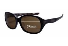 Sunglass Fix Sunglass Replacement Lenses for Oakley Embrace (Asian Fit) - 57mm Wide x 45mm Tall