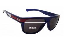 Sunglass Fix Sunglass Replacement Lenses for Oakley Breadbox OO9199 - 56mm Wide - 46mm Tall