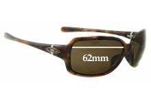 Sunglass Fix Sunglass Replacement Lenses for Oakley Break Point OO9168 - 62mm Wide