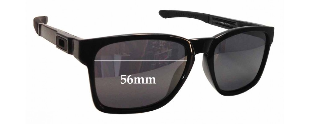 1749b26efd Sunglass Fix Sunglass Replacement Lenses for Oakley Catalyst OO9272 - 56mm  wide