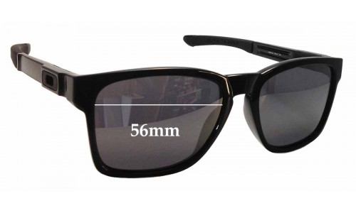 Sunglass Fix Sunglass Replacement Lenses for Oakley Catalyst OO9272 - 56mm Wide