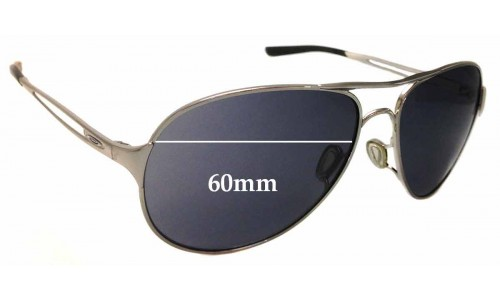 Sunglass Fix Sunglass Replacement Lenses for Oakley Caveat OO4054 - 60mm Wide