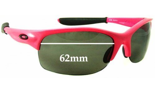 Sunglass Fix Sunglass Replacement Lenses for Oakley Commit and Commit SQ - 62mm Wide