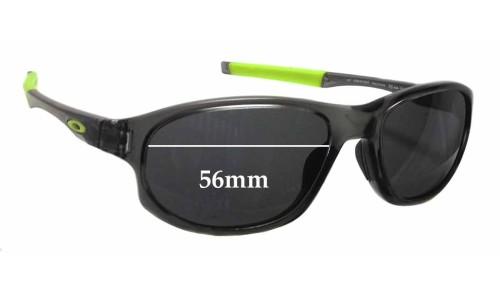 Sunglass Fix Sunglass Replacement Lenses for Oakley Crosslink OX8048 - 56mm wide