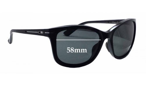 Sunglass Fix Sunglass Replacement Lenses for Oakley Drop In OO9232 - 58mm Wide