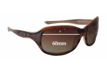 Sunglass Fix Sunglass Replacement Lenses for Oakley Embrace - 60mm Wide x 44mm Tall