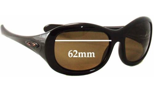 Sunglass Fix Sunglass Replacement Lenses for Oakley Eternal - 62mm Wide
