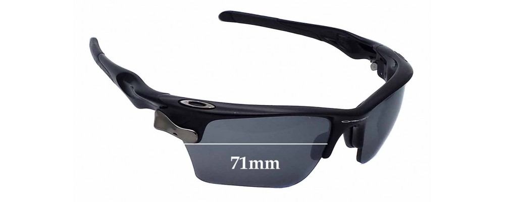 8ea261ca8a Oakley Fast Jacket OO9156 Sunglass Replacement Lenses - 71mm wide ...
