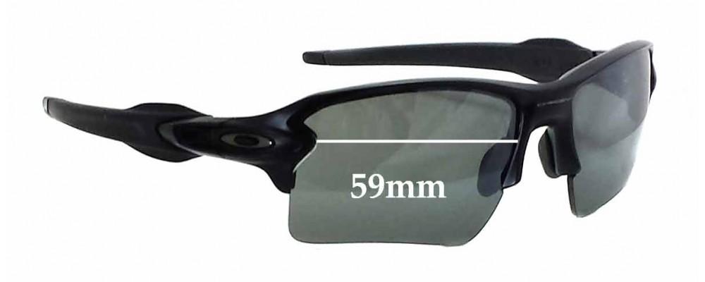 1c67cea8fc Oakley Flak 2.0 XL OO9188 Replacement Lenses 62mm by The Sunglass Fix®  Australia