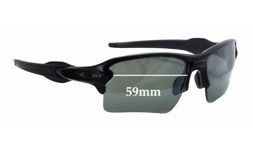 Sunglass Fix Sunglass Replacement Lenses for Oakley Flak 2.0 XL OO9188 - 59mm wide