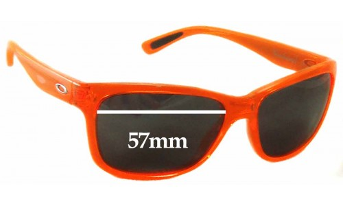 Sunglass Fix Sunglass Replacement Lenses for Oakley Forehand OO9179 - 57mm wide