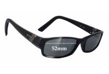 Sunglass Fix Sunglass Replacement Lenses for Oakley Gasket OX1012 - 52mm Wide