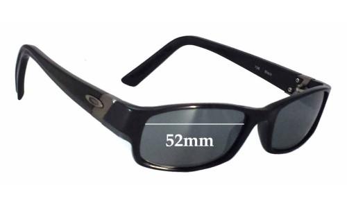 Sunglass Fix Sunglass Replacement Lenses for Oakley Gasket - 52mm wide