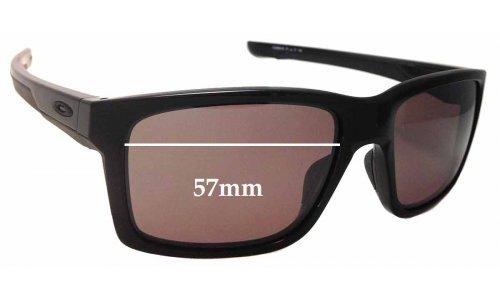 Sunglass Fix Sunglass Replacement Lenses for Oakley Mainlink OO9264 - 57mm Wide