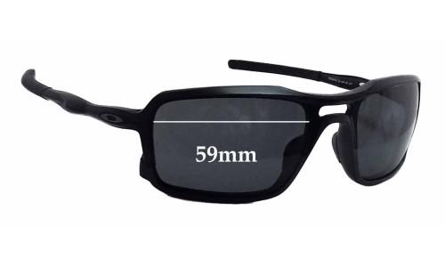 Sunglass Fix Sunglass Replacement Lenses for Oakley Triggerman OO9266 - 59mm Wide