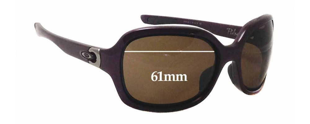 oakley pulse sunglasses australia  oakley pulse oo9198 sunglass replacement lenses 61mm wide