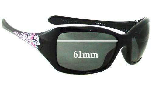 Sunglass Fix Sunglass Replacement Lenses for Oakley Ravishing - 61 - 62mm Wide