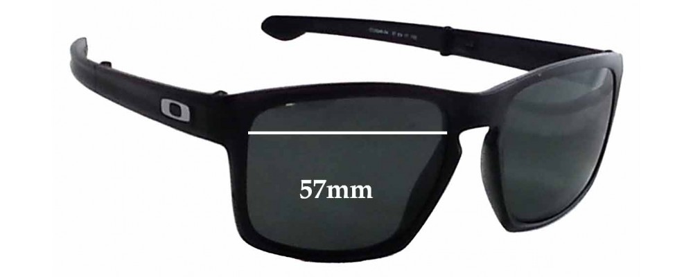 a1ce4cd6f5 Oakley Sliver F OO9246 Sunglass Replacement Lenses - 57mm Wide ...