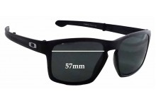 Sunglass Fix Sunglass Replacement Lenses for Oakley Sliver F OO9246 - 57mm Wide