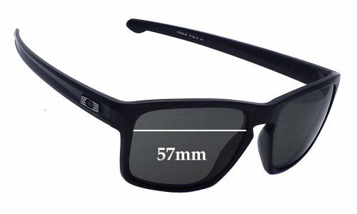 Sunglass Fix Sunglass Replacement Lenses for Oakley Sliver OO9262 - 57mm wide