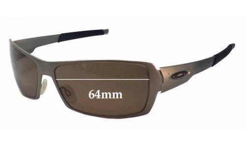 Sunglass Fix Sunglass Replacement Lenses for Oakley Spike - 64mm Wide
