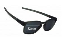 Sunglass Fix Sunglass Replacement Lenses for Oakley Square Latch OO9353 - 52mm Wide