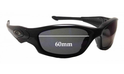 31c171393f Sunglass Fix Sunglass Replacement Lenses for Oakley Straight Jacket 60mm    61mm wide