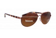 Sunglass Fix Sunglass Replacement Lenses for Oakley Tie Breaker OO4108 - 56mm Wide