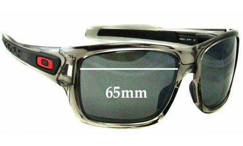 Sunglass Fix Sunglass Replacement Lenses for Oakley Turbine OO9263 - 65mm wide