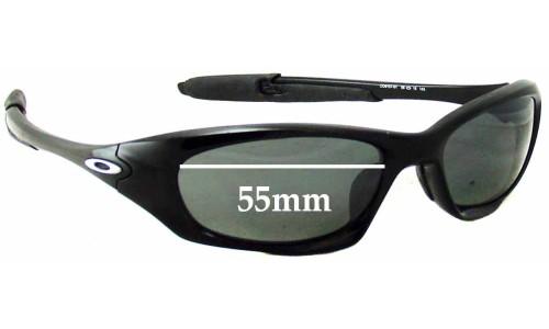 Sunglass Fix Sunglass Replacement Lenses for Oakley Twenty XX OO9157 - 55mm Wide