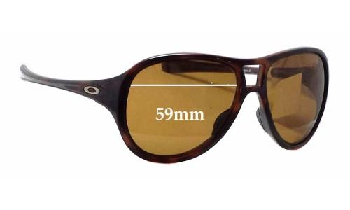 Sunglass Fix Sunglass Replacement Lenses for Oakley Twentysix 2 OO9177 - 59mm Wide
