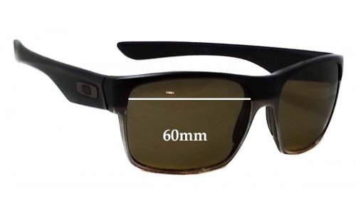 Sunglass Fix Sunglass Replacement Lenses for Oakley TwoFace OO9189 - 60mm Wide