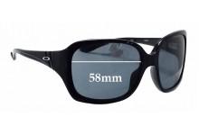 Sunglass Fix Sunglass Replacement Lenses for Oakley Unfaithful OO2029 - 58mm Wide