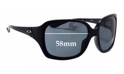 Sunglass Fix Sunglass Replacement Lenses for Oakley Unfaithful OO2029 - 58mm wide