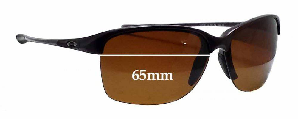 Sunglass Fix Sunglass Replacement Lenses for Oakley Unstoppable OO9191 - 65mm Wide