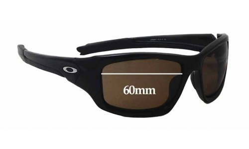 Sunglass Fix Sunglass Replacement Lenses for Oakley OO9236 Valve (newer model) - 60mm wide