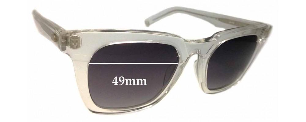 Sunglass Fix Sunglass Replacement Lenses for OAMC Mara - 49mm Wide