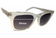 Sunglass Fix Sunglass Replacement Lenses for OAMC Mara - 49mm Wide