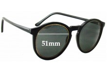 Sunglass Fix Sunglass Replacement Lenses for 101 - 51mm Wide