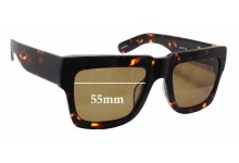 Sunglass Fix Sunglass Replacement Lenses for Onkler Bully - 55mm Wide