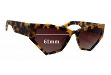 Sunglass Fix Sunglass Replacement Lenses for Onkler For Your Eyes Only - 61mm Wide