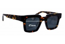 Sunglass Fix Sunglass Replacement Lenses for Oscar & Frank Bockwurst - 47mm Wide