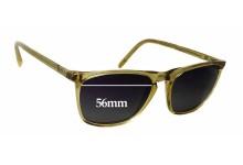 Sunglass Fix Sunglass Replacement Lenses for Oscar Magnuson 237 - 56mm Wide x 42mm Tall