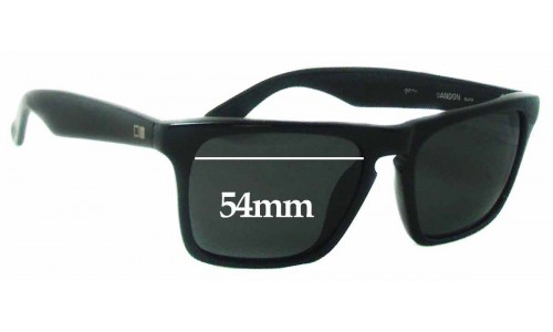 Sunglass Fix Sunglass Replacement Lenses for Otis Reckless Abandon - 54mm wide