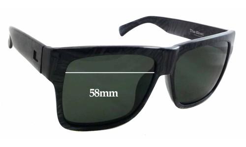 Sunglass Fix Sunglass Replacement Lenses for Otis The Beat - 58mm Wide x 43mm Tall