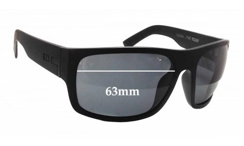 Sunglass Fix Sunglass Replacement Lenses for Otis Tough Love - 63mm Wide x 48mm Tall
